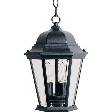 Outdoor Suspended Lighting Maxim Lighting Westlake 3 Light Black Outdoor Hanging Lantern 1009bk The Home Depot