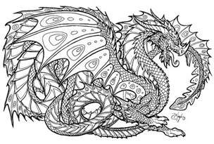 free printable coloring pages for adults advanced free printable coloring pages for adults advanced dragons