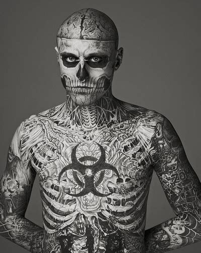 model rick genest boy becomes fashion sensation