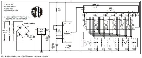 led running display circuit diagram sitemap