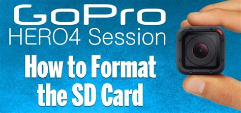 how to format an sd card on your windows 10 computer gopro hero4 session how to format the sd card