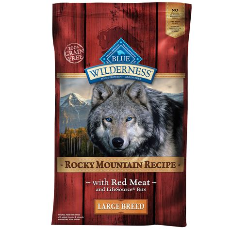 blue buffalo wilderness large breed puppy blue buffalo wilderness rocky mountain large breed 22 lb