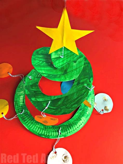 paper plate christmas art 10 artsy tree projects for