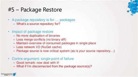 repository pattern antipattern nuget anti patterns tales from the trenches