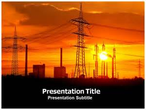 Electric Cars Powerpoint Template Power Utility Powerpoint Templates Ppt Template On