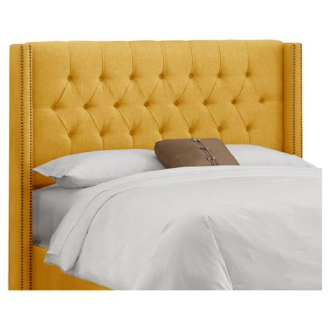 Tufted French Yellow Headboard Recipes Pinterest