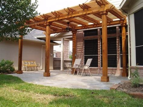 Wooden Arbors And Trellises Patio Ideas Wooden Pergolas And Trellises Are A