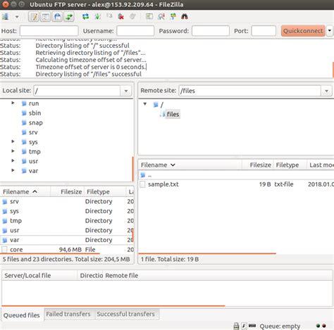 tutorial membuat vps server cara membuat ftp server di ubuntu vps