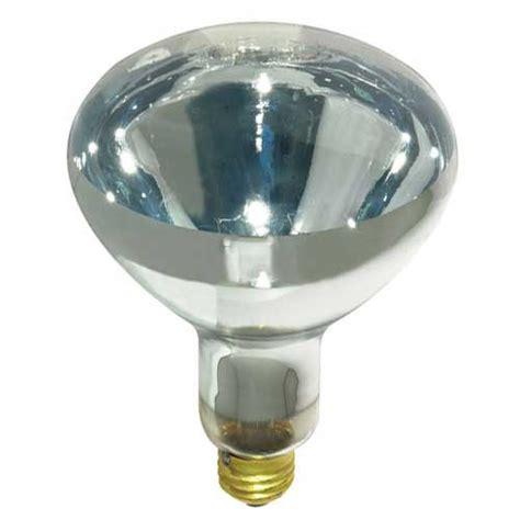 Sylvania Infrared Heat L by Sylvania 14664 6 98 250w Br40 Clear 250w Br40 5 Clear