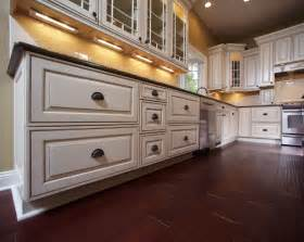 beautiful glazed kitchen cabinets on custom home kitchen