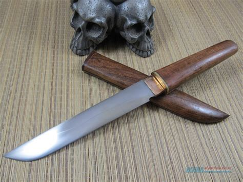 Handmade Tanto - japanese style handmade tanto w wood shirasaya for sale