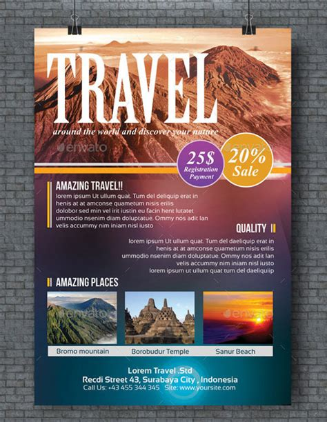 free templates for travel flyers travel flyer template 42 free psd ai vector eps
