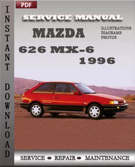 auto repair manual online 1993 mazda mx 6 parking system haynes repair manual ford probe