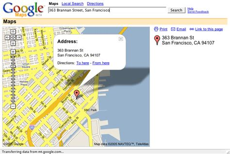 Map Address Search Peterme Maps Ui Some Thoughts