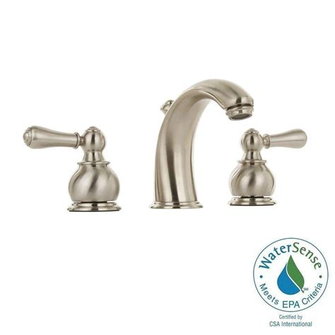 American Standard Hampton Kitchen Faucet by American Standard Hampton 8 In Widespread 2 Handle Mid