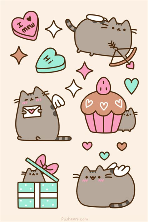imagenes de san valentin kawaii photo pusheen the cat true love pinterest pusheen