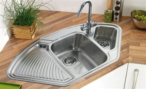 sink designs corner kitchen sink design benefits top modern interior