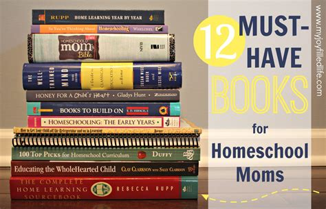 12 must books for homeschool my filled