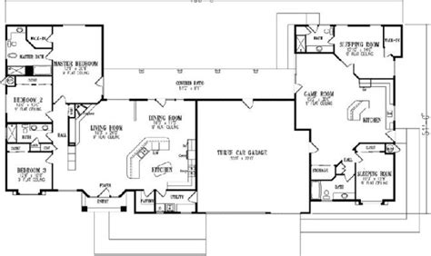 house plans with attached apartment home plans with apartments attached home design ideas