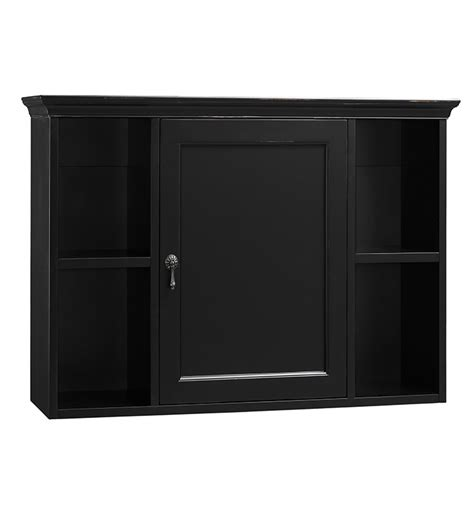 black bathroom wall cabinet ronbow 688225 b01 traditional bathroom wall cabinet in antique black
