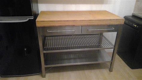 ikea kitchen island bench ikea rimforsa kitchen island work bench stainless steel
