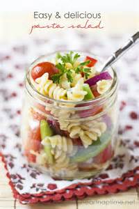 yummy pasta salad delicious and easy pasta salad i heart nap time