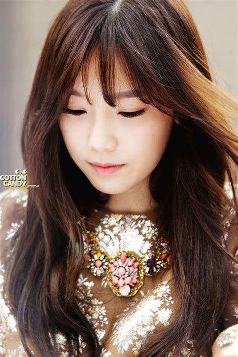 kpop hairstyles bangs see through bangs trend kpop korean hair and style
