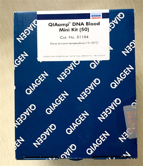 Qiagen Dna Stool Kit by