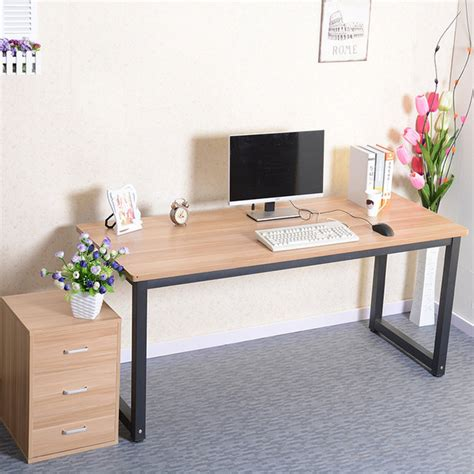long computer desk simple rounded computer desk long table conference desktop