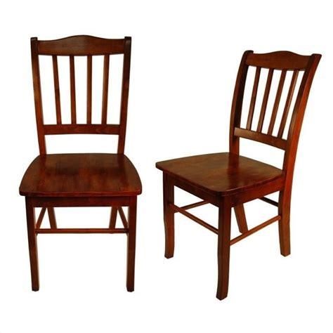 shaker dining room chairs boraam shaker dining chair mahogany chairs in walnut set