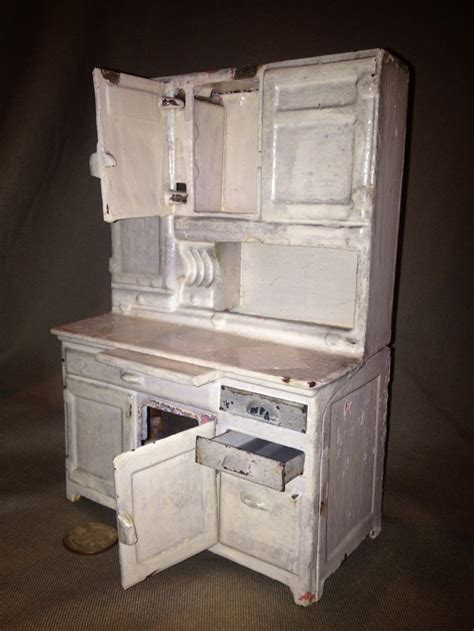 antique hoosier kitchen cabinet antique arcade cast iron kitchen quot hoosier quot cabinet