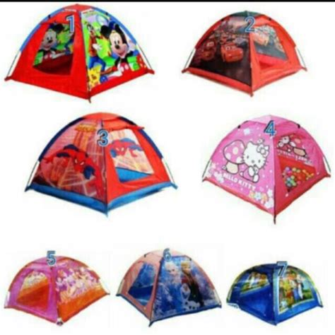 Tenda Anak Di Shopee tenda anak tenda cing tenda karakter tent shopee