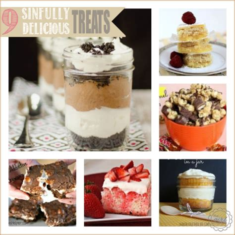 9 Delicious Desserts by 9 Sinfully Delicious Treats The Creative