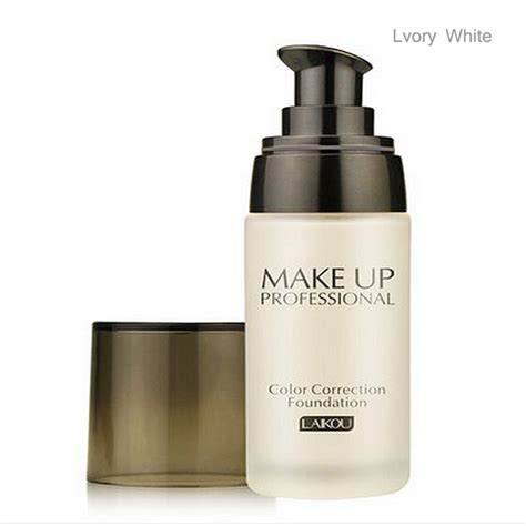Termurah Laikou Bb Foundation Make Up 4 laikou fond de teint liquide 40ml outil de maquillage