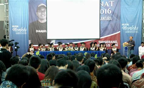 bukalapak news ceo bukalapak com berbagi cerita di kuliah perdana umn