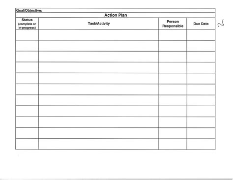 best photos of office work plan template work plan