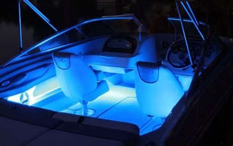 Boat Led Light Strips Power Boat Lighting 300 Rgb Led Waterproof Sail Yacht Bow Rider Ebay