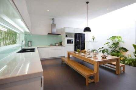 desain dapur diruang terbuka desain rumah desain dan konsep dapur outdoor semi terbuka