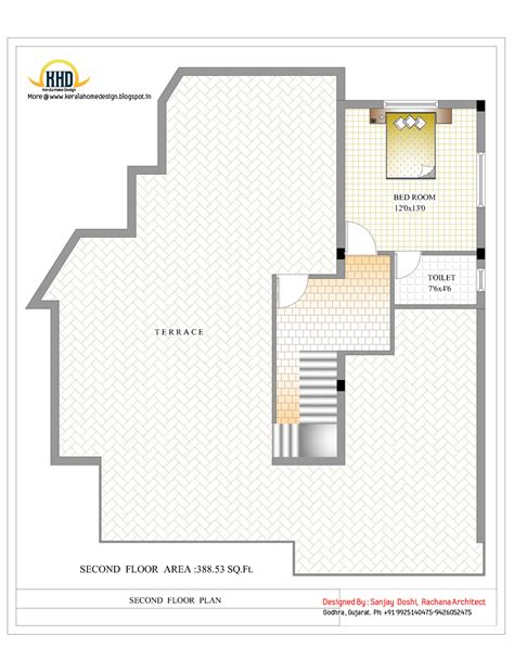 3 story floor plans 3 story house plan and elevation 3521 sq ft kerala