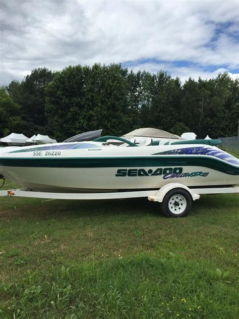 sea doo boat dealers in ontario sea doo sport boats challenger 1800 1999 used boat for