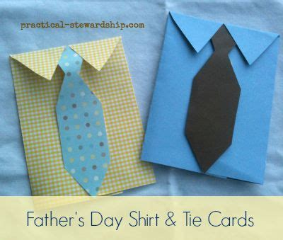 how to make a tie card diy s day dress shirt and tie card for a rainy