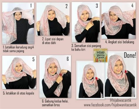 tutorial hijab paris doble hijab tutorial paris segiempat hijab tutorial