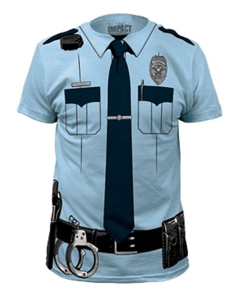 police shirt police officer costume tee t shirt gadgets matrix