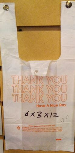 Plastik Thank You plastic quot thank you quot bags