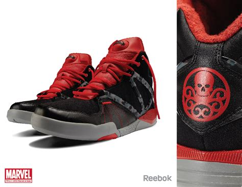 reebok marvel chamber sneakers marvel character
