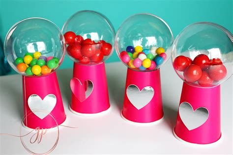 gumball machine valentines easy diy gumball machine tutorial for valentines day