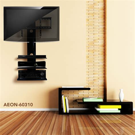 Tv Wall Mounts With Shelf by Tv Wall Mount With Three Shelves Tv Mounts Av Express