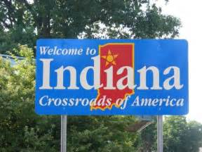 Welcome To Sign Welcome To Indiana Sign Lansing Illinois