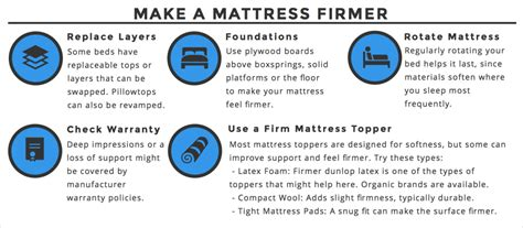 How To Make Your Mattress Firmer by What To Do When Your Mattress Is Firm Or Soft
