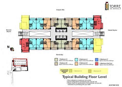 typical floor plan of a house dmci torre de manila maynila condo
